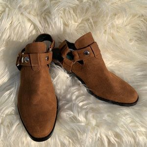 American Eagle Open Back Booties
